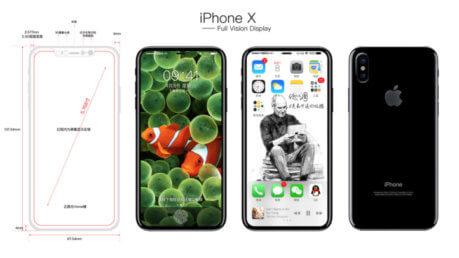 IPhone 8: nuovi schemi CAD in Rete