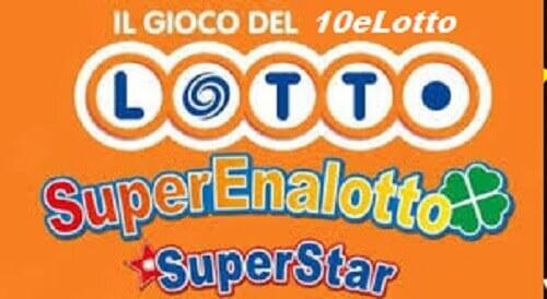 Estrazione Lotto, Superenalotto e 10eLotto